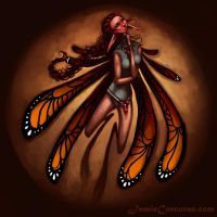 Faerie Ornament Painting by 0Corcoran