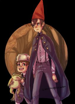 Over the Garden Wall by LizzySky