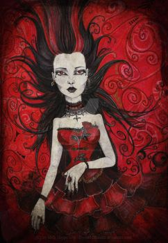 Red Poison by MADmoiselleMeli