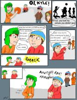 Cartman sucks. by Kyle-Lovers-Club