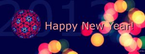 New Years 2013: Facebook Cover by Keitilen