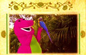 Barney At The Place Where Colors Sing by BestBarneyFan