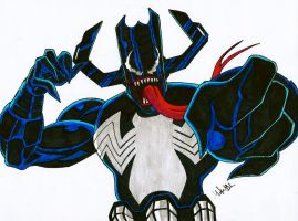 Venom Galacticus by MikeES