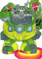 my transformers prime oc: test subject 52# by Brockwel