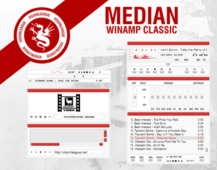 Median winamp classic by frostedflames