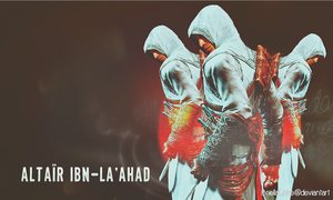 Altair Ibn-La'Ahad Assassins Creed Wallpaper by BriellaLove