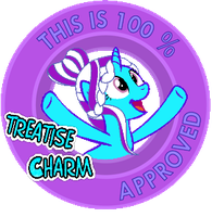 100% Approved By Treatisecharm ArtTrade by TwitterShy