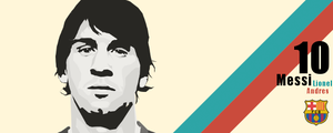 Leo Messi Vector Stuff by automaticlolXD