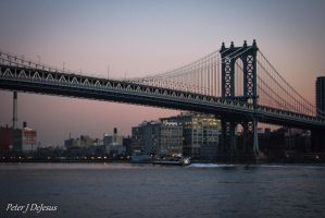 Manhattan Bridge by peterjdejesus