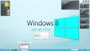 XP modified to Windows 8 by creativecraig