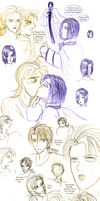 V. - Sketch Pile of Horrors by ErinPtah