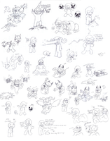 The binding of isaac doodle dump by RWforever