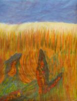 Menses 94: Rats In the Wheat Field by analillithbar