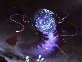 Gravedigger: Glow Worm Hunting by MoonSkinned
