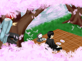 TM Hanami - New Friends by Lilblkrose