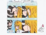 Sarah and Jareth Kiss meme by Poisonisnotgoodforu