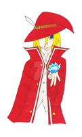 Art trade: The redmage by Stella-Shuriken