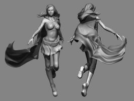 SuperGirl WIP by Chartreuse-Gale