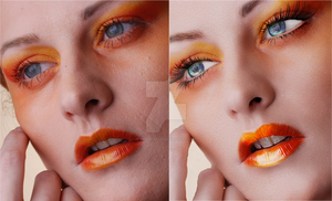 orange beauty by XNBcreative