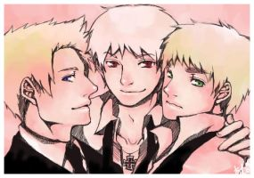 - APH - Pathetic Trio - by ivory-dusk