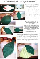 Chikorita leaf tutorial by Chochomaru