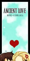 Chibi Germania+Roma Bookmark by SiliceB