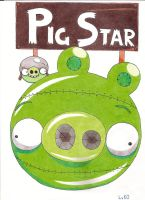 Angry Birds Space Planet: Pig Star by LvKO-King