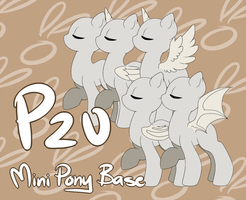 [P2U] Mini Pony Base by RobotBunnyInc