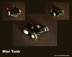 MiniMoc: MiniTank by welcometothedarksyde