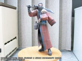 Papercraft Final Fantasy X Auron by ninjatoespapercraft