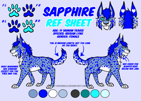 Sapphire Reference Sheet by RiverBelle