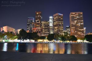 My Los Angeles by pacmangeek