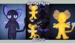 Kero and Supi collage by Piripanda