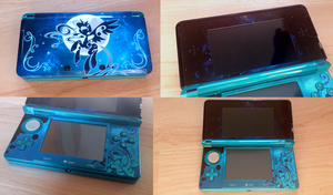 3DS Skin - MLP Luna by Habijob