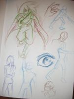 Sketch Dump Color Style! by KyteLeonhart