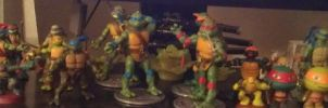 my tmnt collection so far by WolffangComics