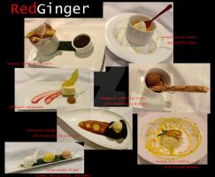 Red Ginger desserts by greensprout