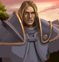 my first Arthas by scourge-minion