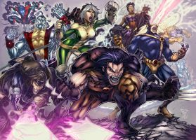 X MEN by Felsus