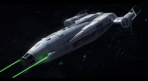 Sienar Fleet Systems Scout ship by AdamKop
