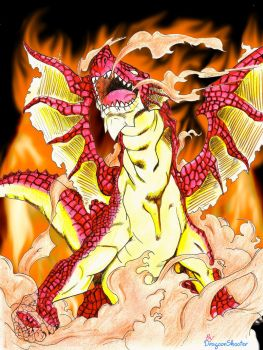Igneel, the Fire Dragon by DragonShooter