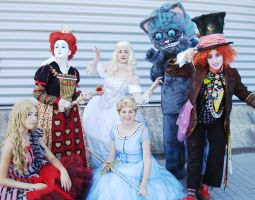 Alice in Wonderland group by Giuly-Chan