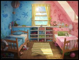 Children's room #1 by logartis