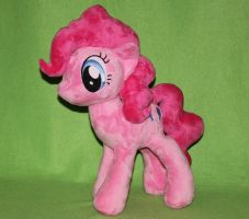 Pinkie Pie Plush by GrayTheZebra