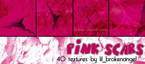 Textures - Pink Scars by lilbrokenangel