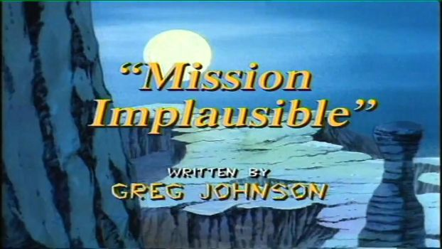 Episode 9 Mission Implausible by GiuseppeDiRosso