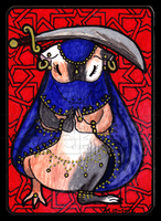 Bellydancing Piggie Gift-ACEO 36 by Siobhan68