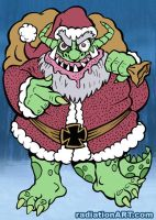 Santa Satan Krampus by RossRadiation