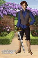 Carswell Thorne: Knight Of Cups by diangeloshepherd