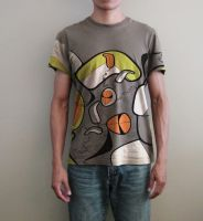 Puzzle_T-shirt by ludoalex
